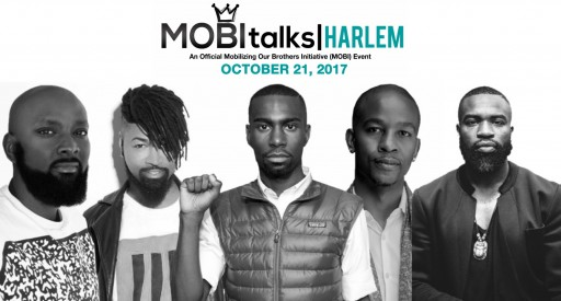 DeRay McKesson, Ty Hunter, Darnell Moore, Wade Davis, and Patrik-Ian Polk Join Mobilizing Our Brothers Initiative (MOBI) MOBItalks: Harlem